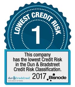 Dun & Bradstreet - Top Credit Rating - Bisnode