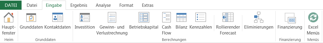 Invest for SharePoint, project data view (simple example)