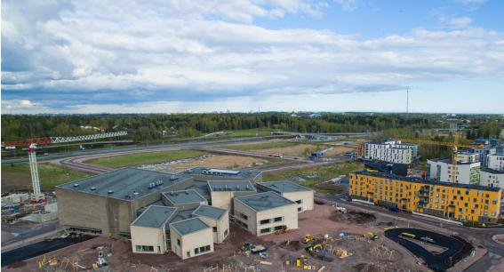 Opinmäki campus 1st phase