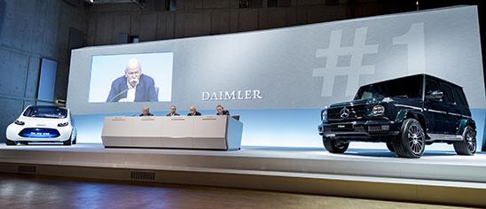 Daimler Mercedes Earnings